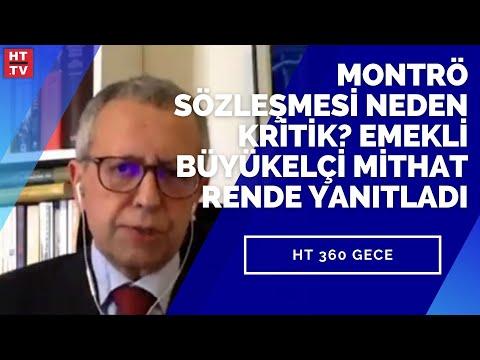 Montrö Sözleşmesi neden kritik? Emekli Büyükelçi Mithat Rende yanıtladı