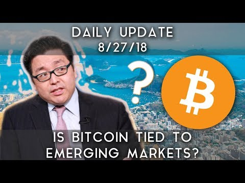 Daily Update (8/27/18) | Does Bitcoin correlate to emerging markets?