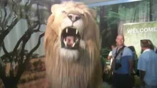 Robotic jungle animals