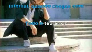 Pó de arroz (Carlos Paião) - Karaoke