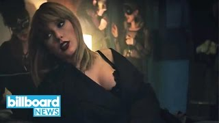 Taylor Swift & Zayn Drop Smoldering Video for 'Fifty Shades Darker' Song | Billboard News