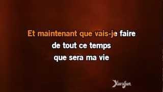 Karaoké Et maintenant (Live) - Isabelle Boulay *
