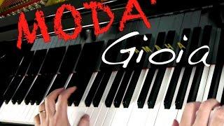 Modà - Gioia - HD Piano Rock Cover - Milan - Magnifico Room - Moda