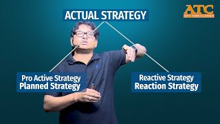 Strategy is Partly Proactive and Partly Reactive