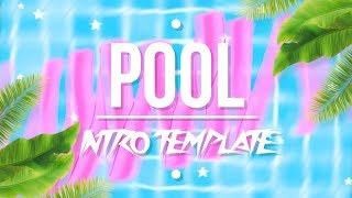TUMBLR POOL & LEAVES INTRO TEMPLATE (NO TEXT)