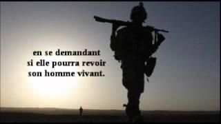 HOMMAGE AUX FEMMES DE MILITAIRES.