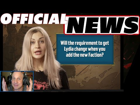 Official news Dupe system, silver cost, Lydia, artifact equipping, new faction coming | Raid
