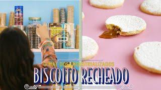 BISCOITO RECHEADO CASEIRO |  OS MALES DO BISCOITO INDUSTRIALIZADO | RAIZA COSTA