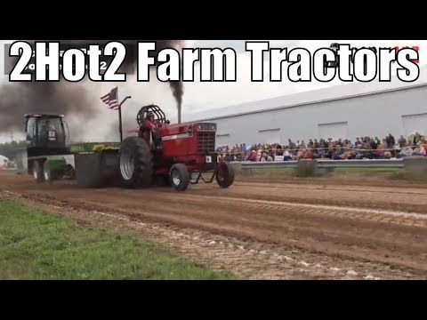2Hot2 Farm Tractor Class From WMP At Kent City MI 2018