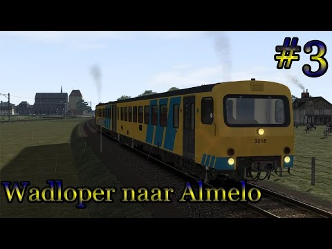 Met de Wadloper naar Almelo - Train Simulator 2017 (Livestream#3)
