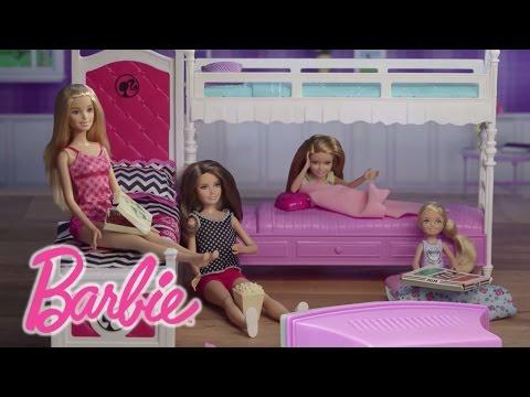 Barbie: Wie organisiert man eine Pyjamaparty | Barbie