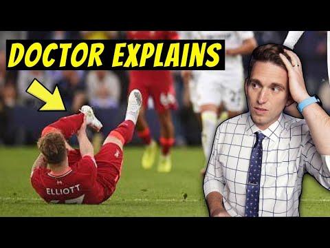 Harvey Elliot SERIOUS Ankle Injury & Dislocation - Doctor Explains Injury