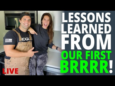 Lessons Learned From Our First BRRRR Investment Property | Live Q&A w/ Rentals To Wealth