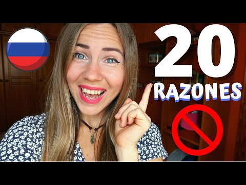 😬¿Por qué el idioma ruso es tan DIFÍCIL y por qué NUNCA aprenderás ruso? 😂 20 RAZONES  (chica rusa)