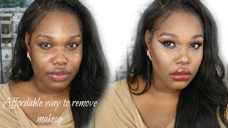 Get unready with me  Affordable Way To Remove Makeup