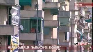 """Milano, case Aler: """"Basta con gli sgomberi"""""""