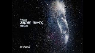 Professor Stephen Hawking 1942 - 2018 width=