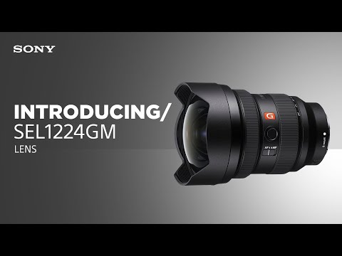 Introducing the Sony SEL1224GM lens