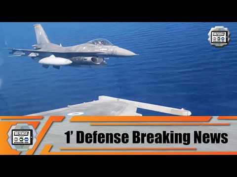 Greek-American naval and air forces hold joint aeronautical exercise in South of Crete