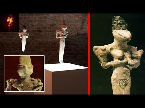 Ancient Alien Figurines Found In Iraq?