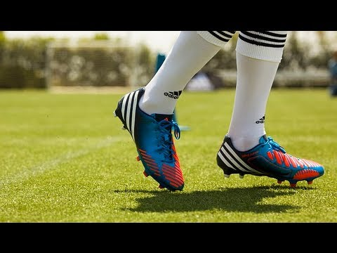 info for fbd22 f532c adidas Predator LZ miCoach  Lethal Zones  BlueWhiteInfrared  Unboxing   freekickerz