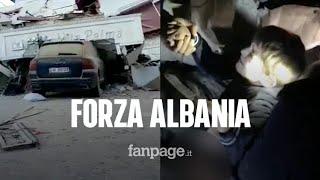 Terremoto di magnitudo 6.5 devasta l'Albania: 179 secondi di terrore