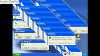 Windows crazy error (red zone XP)
