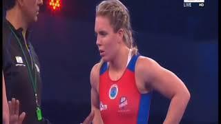PWL 3 Day 11: Vasilisa Marzaliuk Vs Zsanett Nemeth at Pro Wrestling League 2018 | Full Match width=