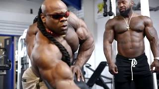 Mike Rashid, Kai Greene, Ulisses | Triceps, Biceps, Chest & Delts