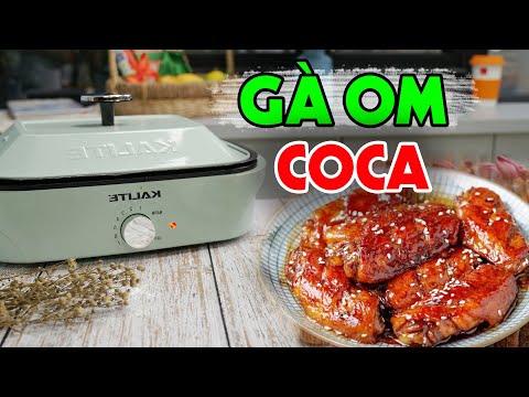 Làm Gà Om Coca Lạ Miệng Mà Ngon Với Nồi 2 Khay Kalite | #Shorts