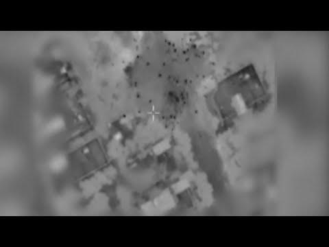 Watch: Israeli Missiles Hit Targets in Gaza