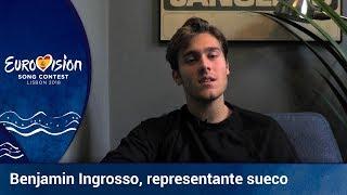 **Benjamin Ingrosso** representa a Suecia en Eurovisión 2018 con 'Dance you off'