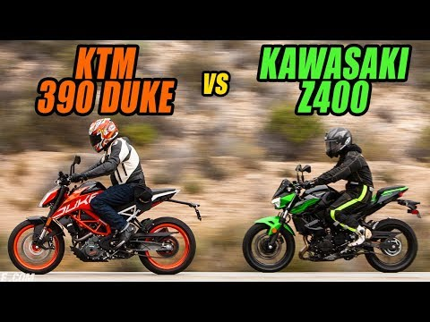 Lightweight Rippers: 2019 KTM 390 Duke vs. 2019 Kawasaki Z400