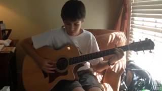 'Amazing Grace' Gospel Acoustic Guitar Instrumental Cover