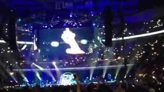 "Garth Brooks Cleveland ohio 10-10-15 ""the River"" late show"