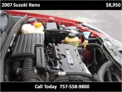 2007 Suzuki Reno Problems Online Manuals And Repair