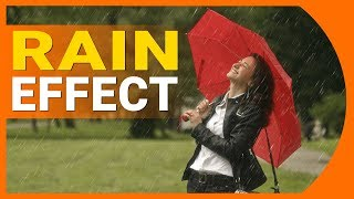 How to make a Rain effect in Photoshop CC