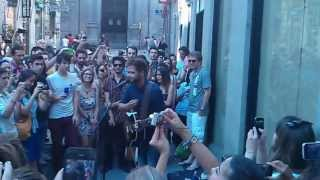 Passenger - Let her go (Public performance Madrid - 12/06/2013)