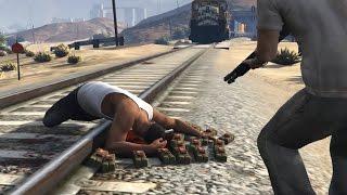 GTA 5 Trevor Kills Franklin