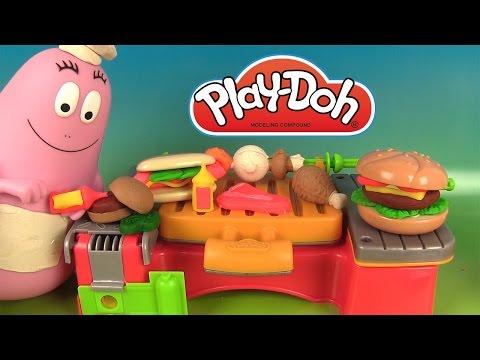 Download Video Play Doh Cookout Creations Créations Sur Le Gril Pâte à Modeler Avec Chef Barbapapa