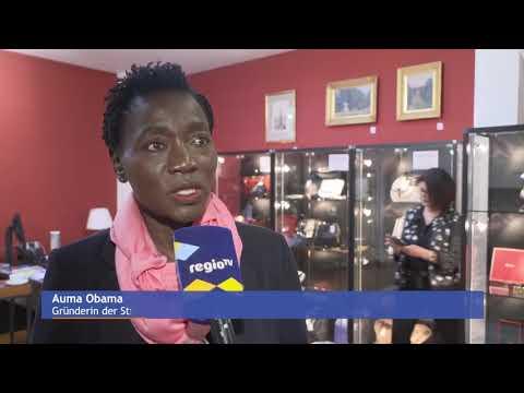 Unter der Schirmherrschaft von Auma Obama, Benefizauktion für Kirche und Kinder in Kenia
