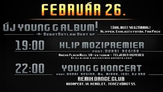 YOUNG G - AMI BELEFÉR ALBUM PROMO │2015.FEB.26│