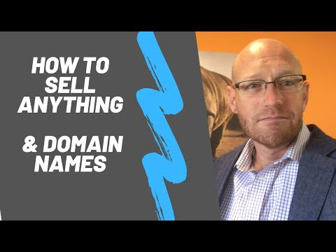 The fundamentals to selling anything - especially domain names.