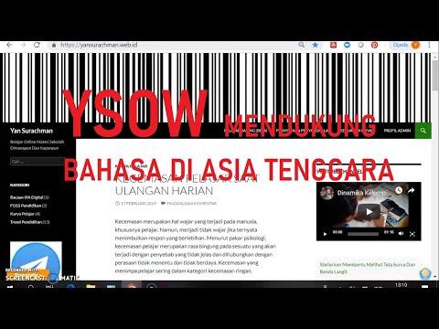 Situs Web Yan Surachman Mendukung Translate Bahasa Di ASEAN