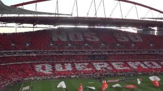 Benfica 2 Sporting 0  - 21 Abril 2013 - Hino do Benfica - Ser Benfiquista