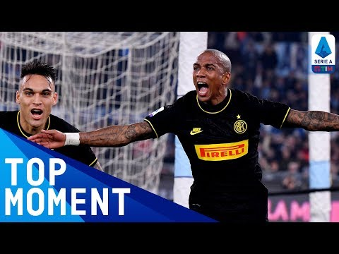 Ashley Young Scores His First Inter Goal Against Lazio! | Lazio 2-1 Inter | Top Moment | Serie A TIM