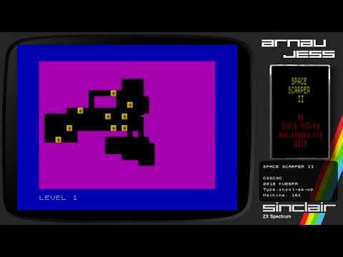 SPACE SCARPER II Zx Spectrum -CSSCGC- by Kweepa