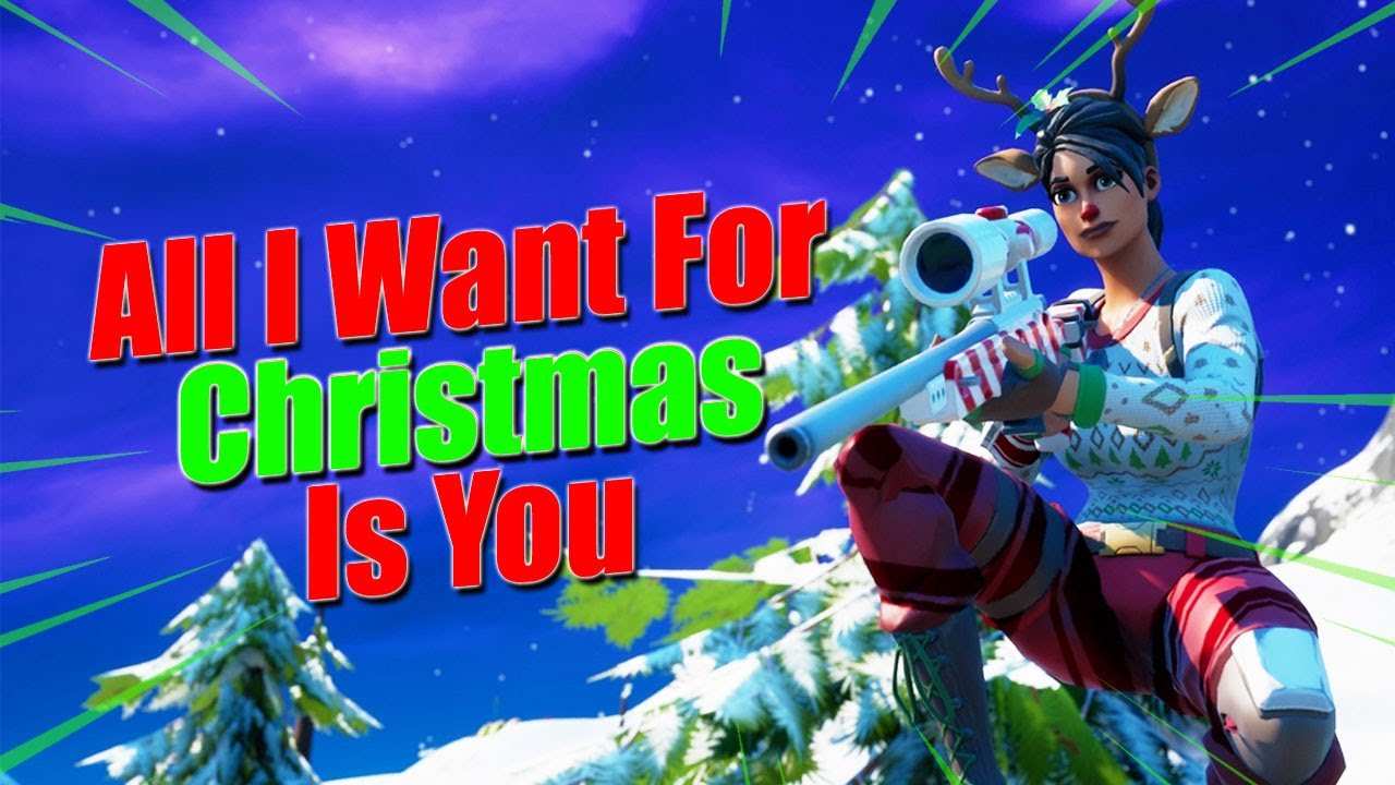 Kai - Fortnite Montage - All I Want For Christmas Is You (Mariah Carey)