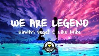 Dimitri Vegas & Like Mike vs. Steve Aoki - We Are Legend (BL3R & Buzzmeisters Remix)