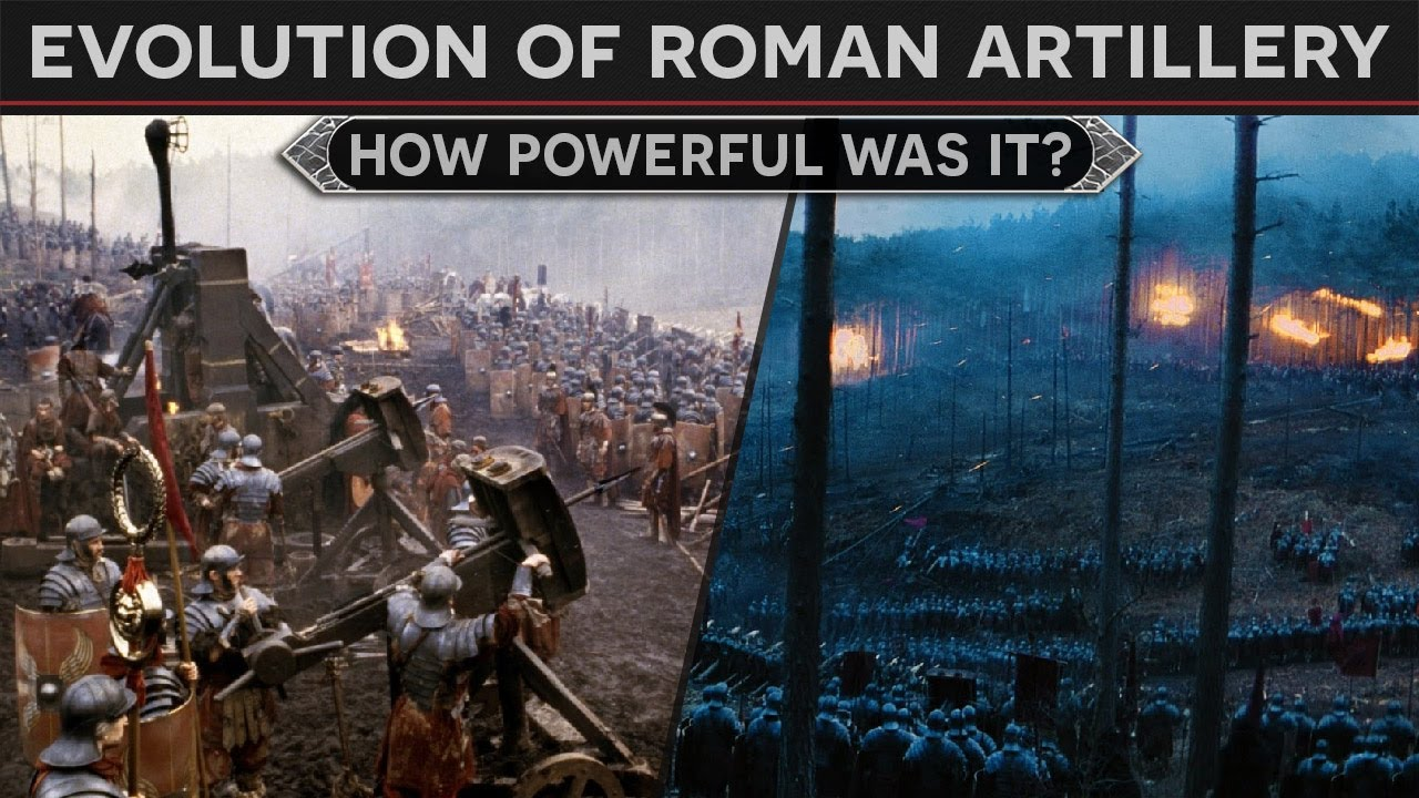 Evolution of Roman Artillery - How Powerful Was It?